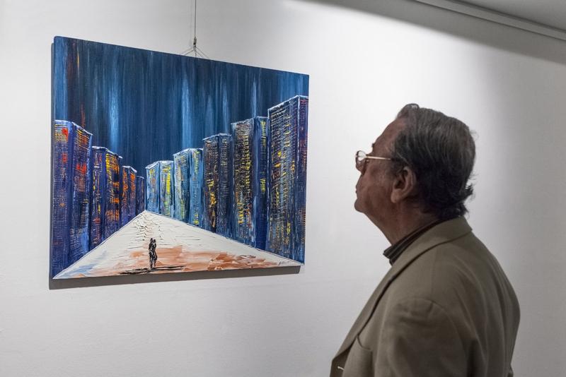 Artist Alexey Klokov exhibition. Photo courtesy: Naira Velumyan, PR