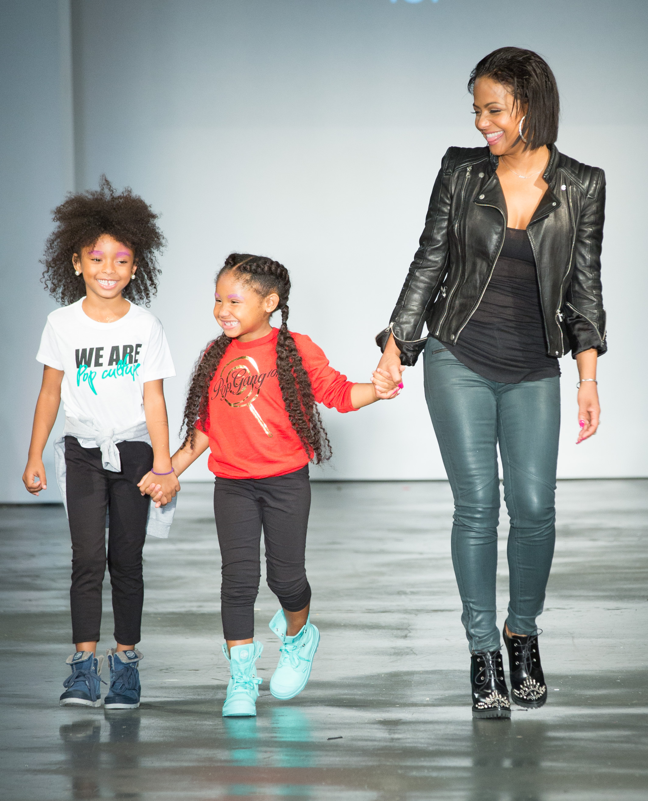 Christina Milian's Daughter Violet Nash Walks The Runway ...