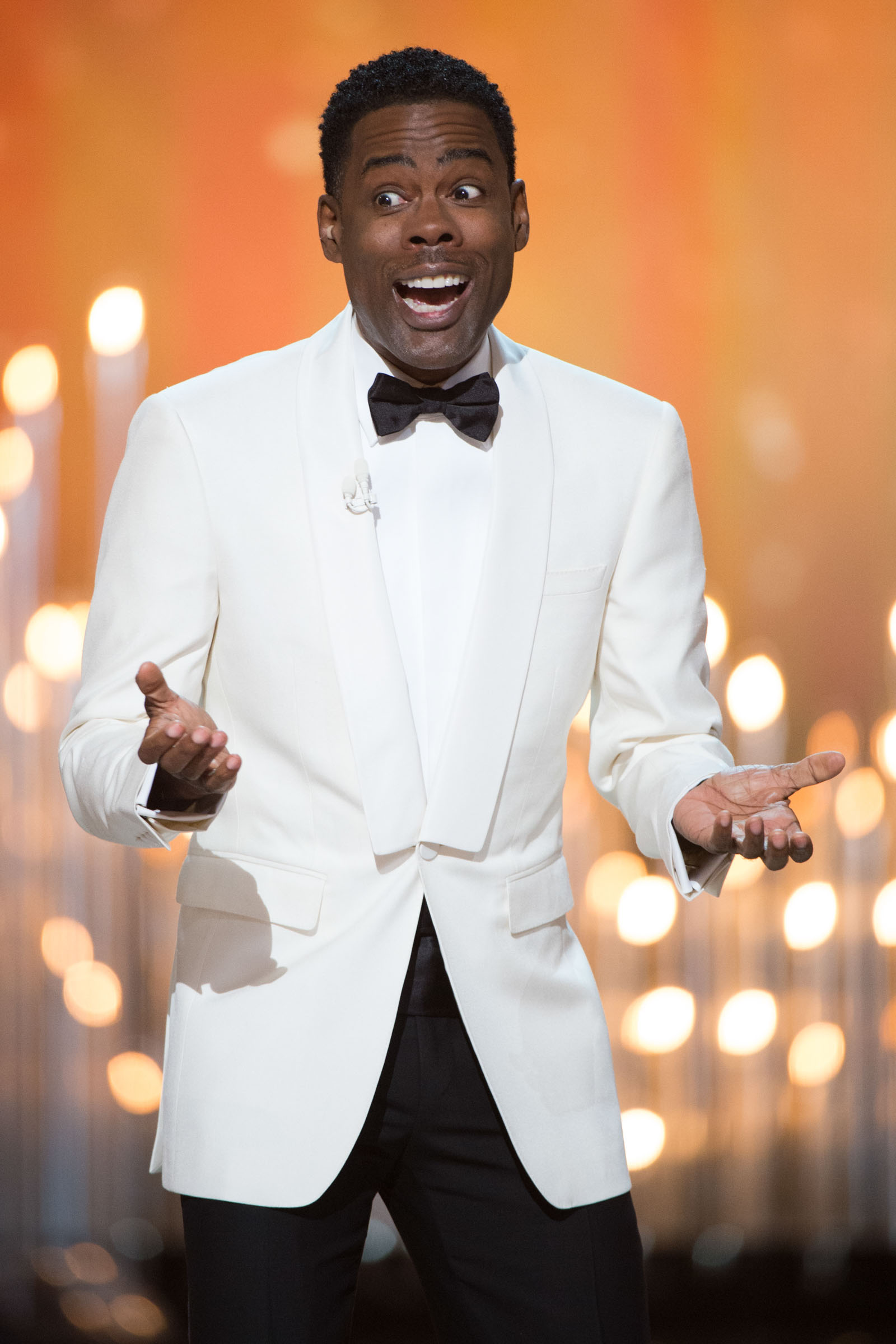 Chris Rock hosts The 88th Oscars® at the Dolby® Theatre in Hollywood, CA on Sunday, February 28, 2016. Photo Credit: Aaron Poole / ©A.M.P.A.S.