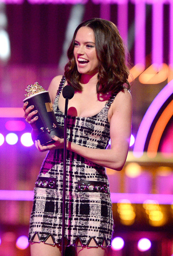 Daisy Ridley. Photo provided by MTV Movie Awards PR