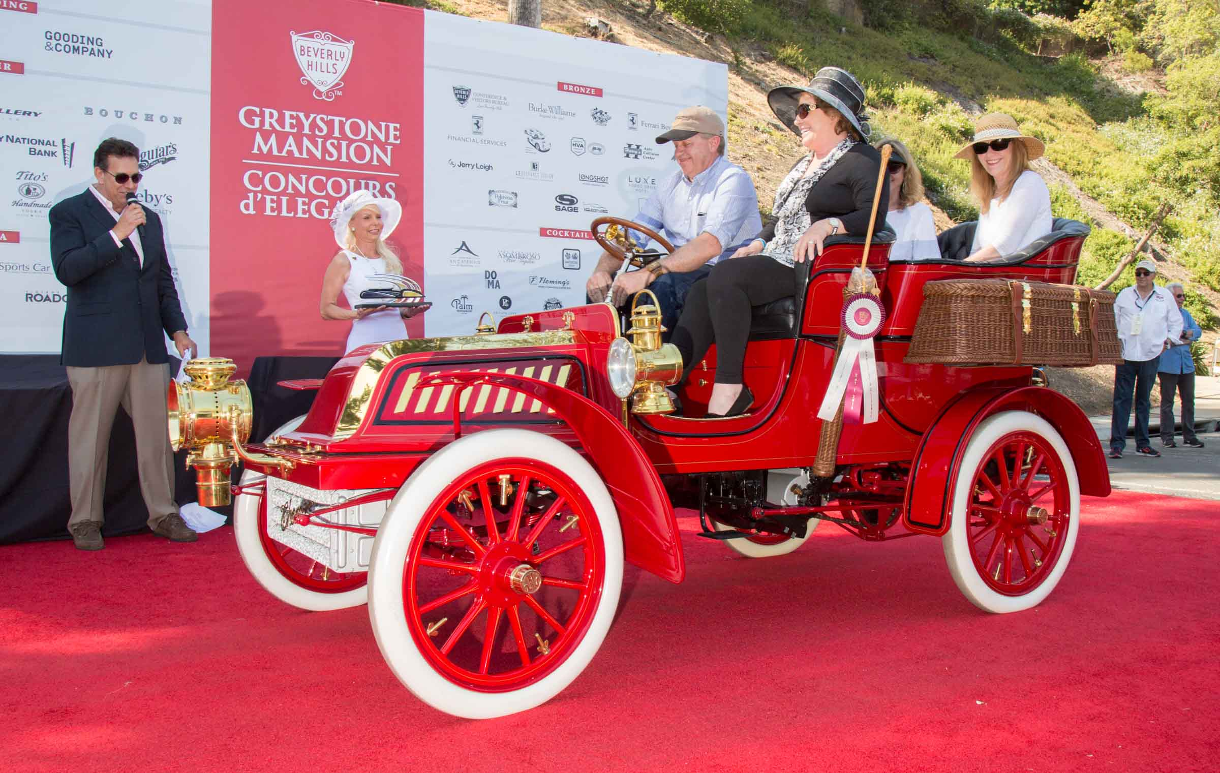 The Th Annual Greystone Mansion Concours DElegance Was The Best - Voss chevrolet car show