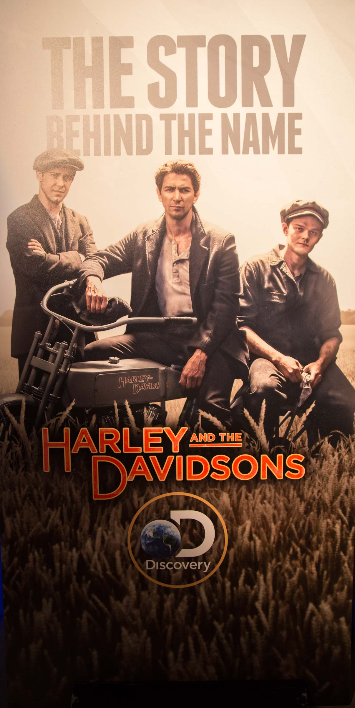 discovery channel presents harley and the davidsons mini series hollywood glam magazine. Black Bedroom Furniture Sets. Home Design Ideas