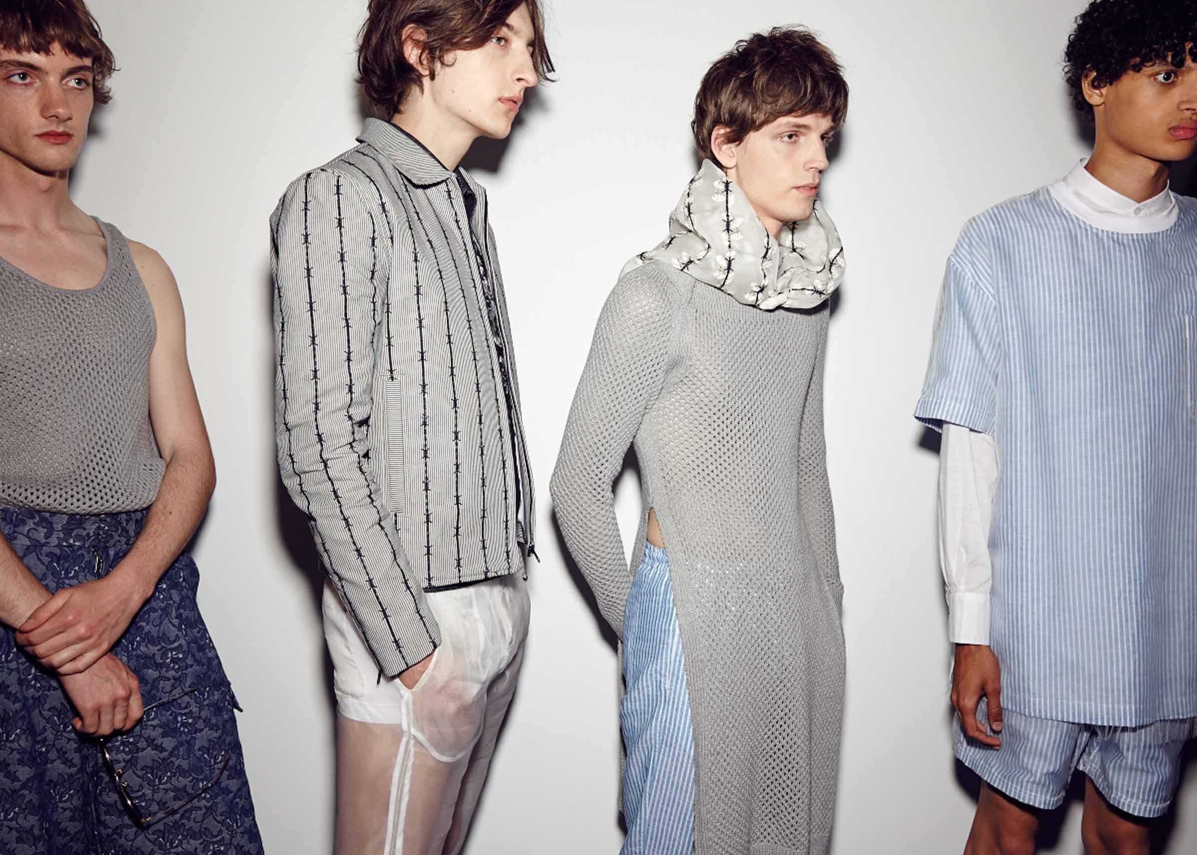 Bodybound SS18, Backstage (Sam Wilson, British Fashion Council)