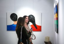 Artist Alexey Klokov exhibition. Photo courtesy: Naira Velumyan, PR
